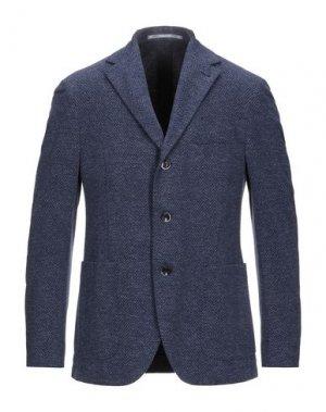 Пиджак CANTARELLI JERSEY PLANET. Цвет: грифельно-синий