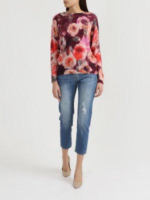 Рваные джинсы Finisterre. Цвет: siniy