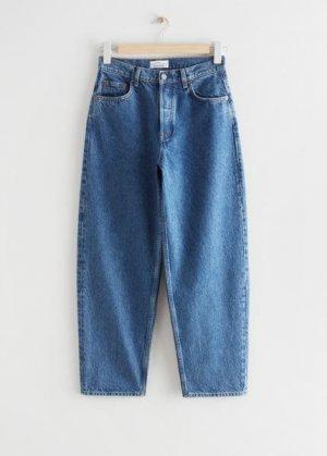 Укороченные джинсы Major Cut &Other Stories. Цвет: синий