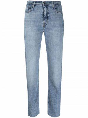 Укороченные джинсы Calvin Klein. Цвет: синий