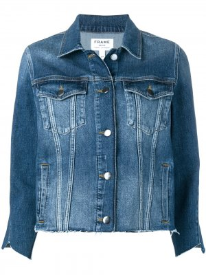 Куртка Le Triangle Gusset FRAME. Цвет: синий