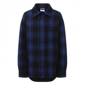 Шерстяная куртка Vetements. Цвет: синий