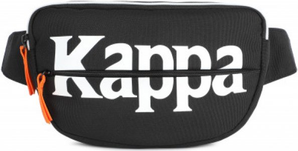 Сумка на пояс Kappa. Цвет: черный