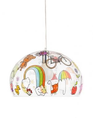 Подвесная лампа KARTELL. Цвет: прозрачный