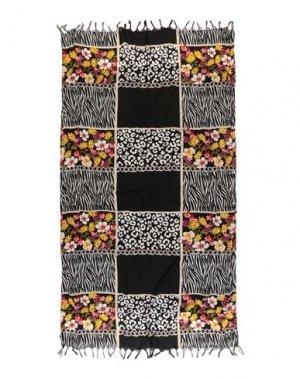 Пляжное полотенце ICONIQUE. Цвет: черный