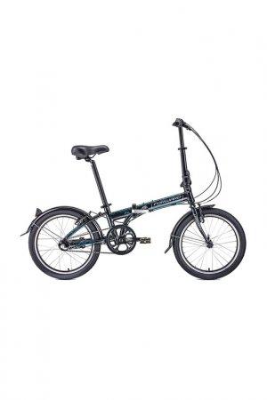 Велосипед ENIGMA 20 3.0 2020 Forward. Цвет: черный, серый