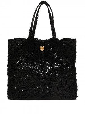 Большая сумка-тоут Beatrice Dolce & Gabbana. Цвет: черный