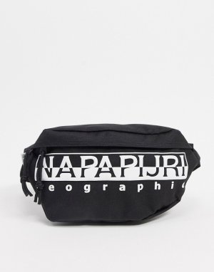 Черная сумка-кошелек на пояс -Черный Napapijri