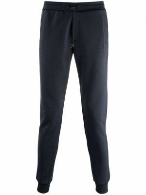 Зауженные брюки с кулиской Colmar. Цвет: синий