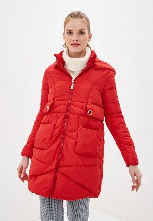 Куртка утепленная Karolina. Цвет: красный