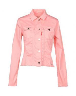 Куртка MET JEANS. Цвет: розовый
