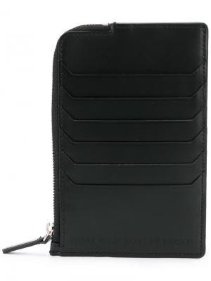 Бумажник с боковой молнией Juun.J. Цвет: чёрный