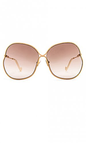Солнцезащитные очки shibori Zimmermann. Цвет: metallic gold,taupe