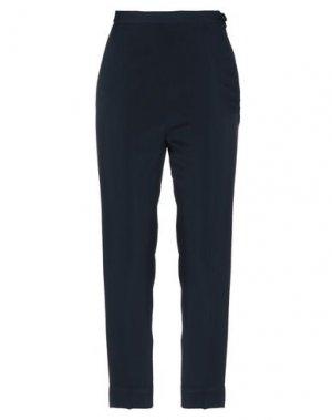 Повседневные брюки I'M ISOLA MARRAS. Цвет: темно-синий