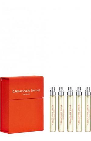 Дорожный набор парфюмерная вода Ambre Royal Ormonde Jayne. Цвет: бесцветный