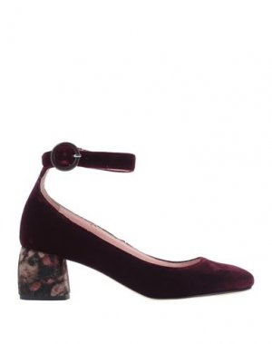Туфли ANNA F.. Цвет: красно-коричневый