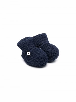 Носки с пуговицами Little Bear. Цвет: синий