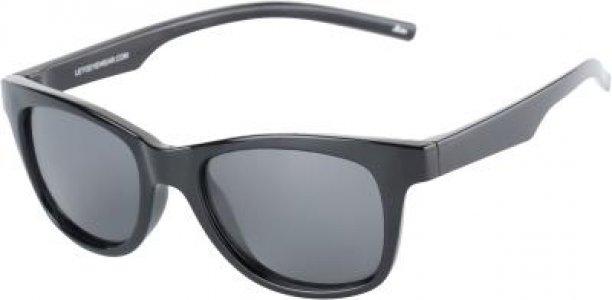 Солнцезащитные очки Leto. Цвет: черный