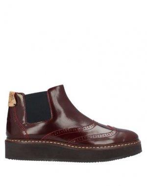 Полусапоги и высокие ботинки ALVIERO MARTINI 1a CLASSE. Цвет: красно-коричневый