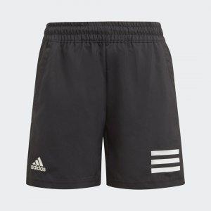 Шорты для тенниса Club 3-Stripes Performance adidas. Цвет: черный