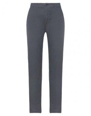 Повседневные брюки EUROPEAN CULTURE. Цвет: свинцово-серый
