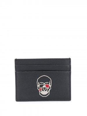 Картхолдер с декором Skull Philipp Plein. Цвет: черный