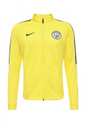 Олимпийка Nike NI464EMPKL07. Цвет: желтый