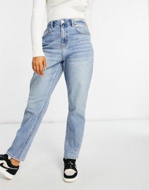 Выбеленные светло-голубые джинсы в винтажном стиле -Голубой American Eagle