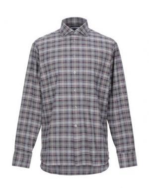 Pубашка BRANCACCIO. Цвет: серый