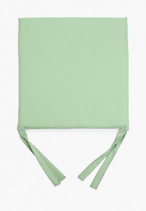 Подушка на стул Эго 40х40 см. Цвет: зеленый