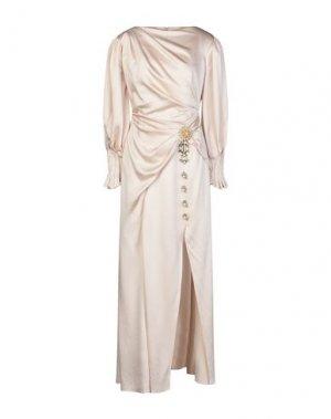 Длинное платье PETER PILOTTO. Цвет: светло-розовый