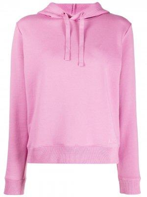 Худи Erin с вышитым логотипом A.P.C.. Цвет: розовый