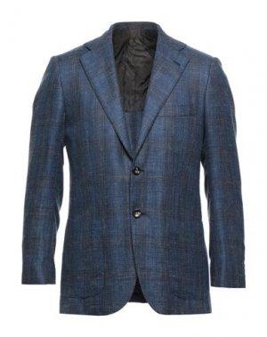 Пиджак KITON. Цвет: синий