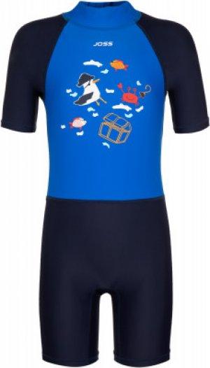 Плавательный костюм для мальчиков , размер 104 Joss. Цвет: синий