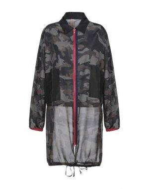 Легкое пальто PIANURASTUDIO. Цвет: зеленый-милитари