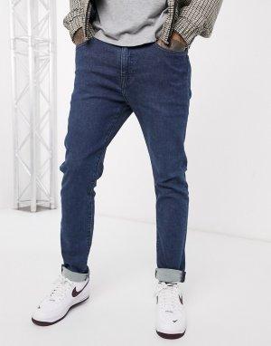 Темные зауженные джинсы Levis 512-Синий Levi's