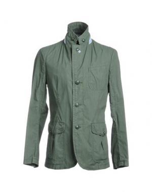 Пиджак GEOSPIRIT. Цвет: изумрудно-зеленый
