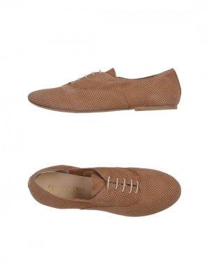 Обувь на шнурках PAOLA FERRI BY ALBA MODA. Цвет: коричневый