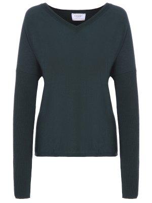 Пуловер базовый SNOBBY SHEEP. Цвет: зеленый