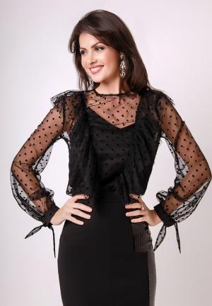 Блуза Olga Skazkina. Цвет: черный