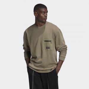 Свитшот Crew Originals adidas. Цвет: none