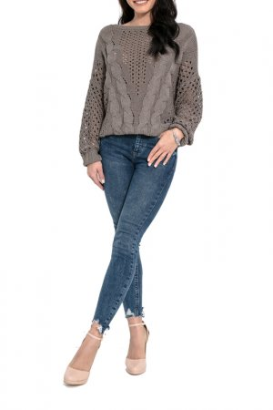 Пуловер FIMFI. Цвет: коричневый