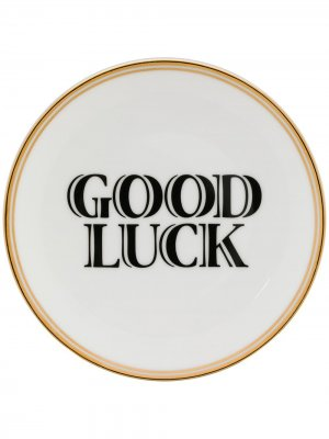 Тарелка Good Luck Bitossi Home. Цвет: белый