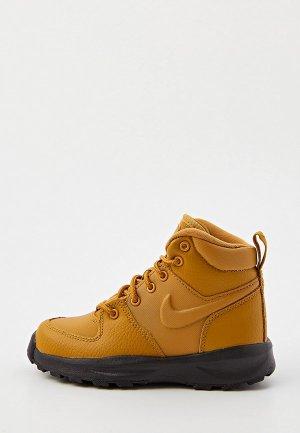 Ботинки Nike MANOA LTR (PS). Цвет: коричневый
