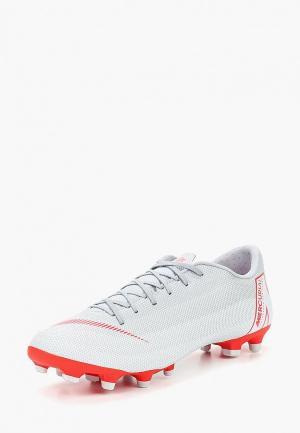 Бутсы Nike Vapor 12 Academy (MG) Multi-Ground Football Boot. Цвет: серый