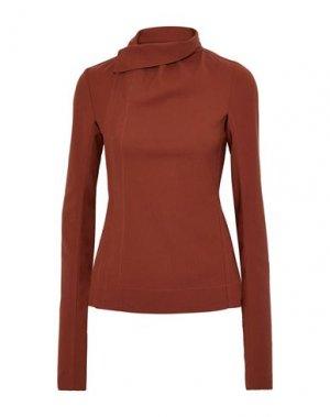 Пиджак RICK OWENS. Цвет: ржаво-коричневый
