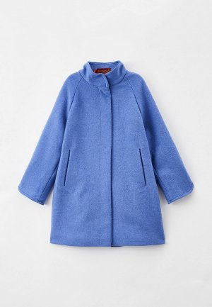 Пальто Mamma Mila!. Цвет: синий