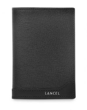 Чехол для документов LANCEL. Цвет: черный