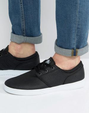 Черные кроссовки Figueroa Emerica. Цвет: черный