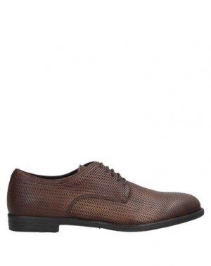 Обувь на шнурках ANGELO NARDELLI. Цвет: темно-коричневый